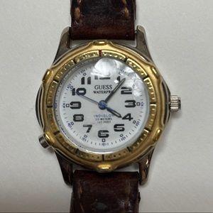 GUESS Indiglo WaterPro 50 meters Watch Never worn